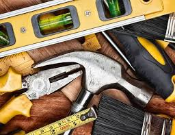 Builders tools and equipment
